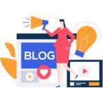 学びのマーケティング ブログ作成